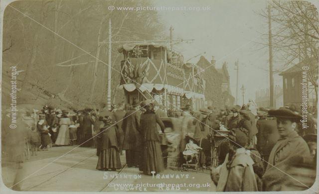 Tram Terminus?, Colwick Road, Sneinton, Nottingham, c 1900