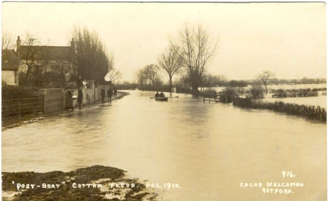 Floods at Cottam, Dec. 1910