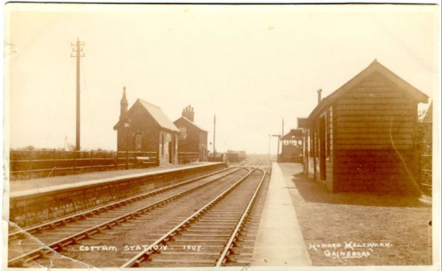 Railway Station, Cottam