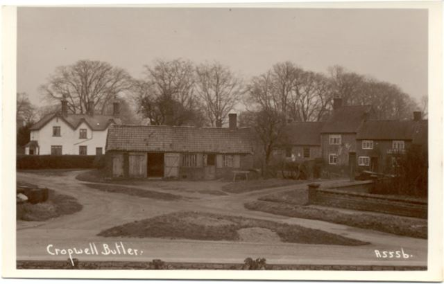 Hardigate Road and Main Streetm Cropwell Butler, c 1930s-40s