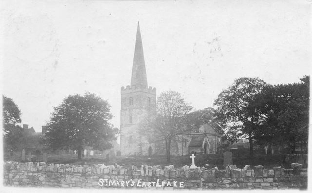 St. Mary's Church, Main Street, East Leake, c 1900