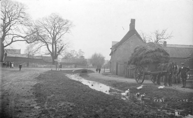Brookside, East Leake, c 1890s