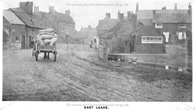 Main Street, East Leake, c 1890s