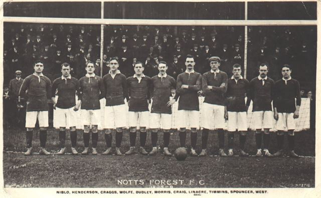 Notts. Forest F.C. team, 1905-1906