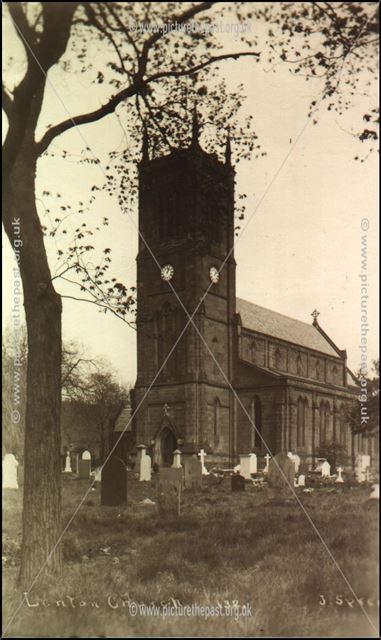 Holy Trinity Church, Church Street, Lenton, Nottingham, c 1910s ?