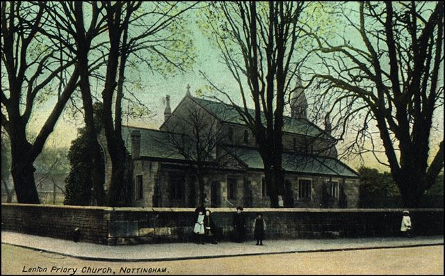 Priory Church, Gregory Street, Lenton, Nottingham, c 1900s