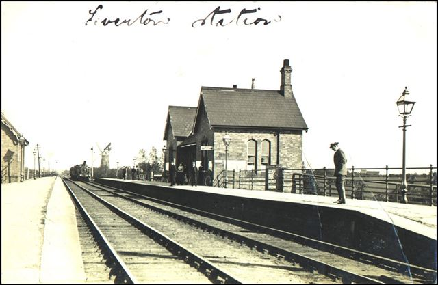 Railway Station, North Leverton