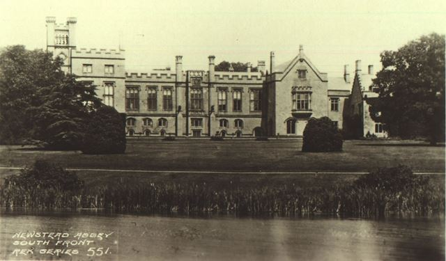 Newstead Abbey - South Front