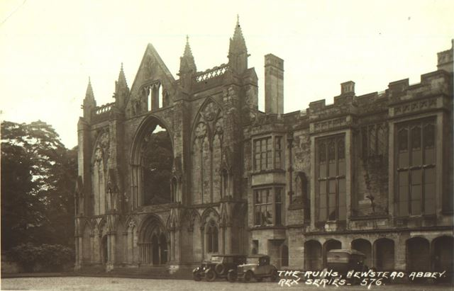Newstead Abbey - West Front