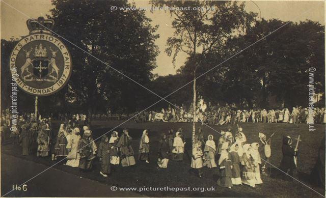 Notts. Patriotic Fair, Whit Monday, 1917.