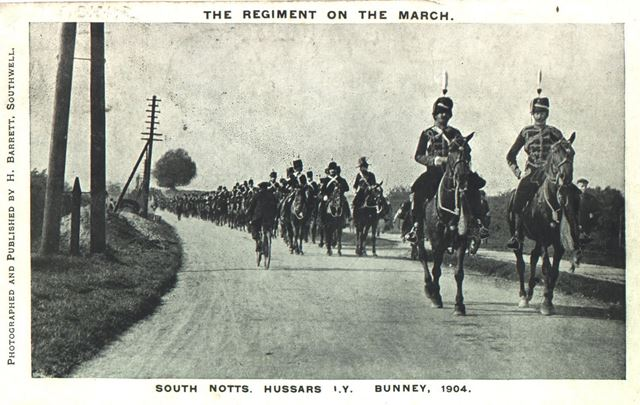 South Notts. Hussars, Imperial yeomanry