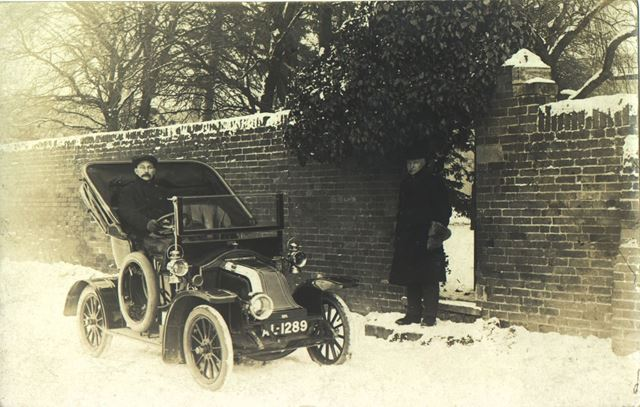 Early Motor Car, Nottingham, pre 1914?