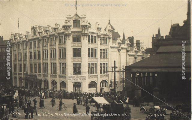 Elite Picture theatre, Parliment Street, Nottingham, 1921?