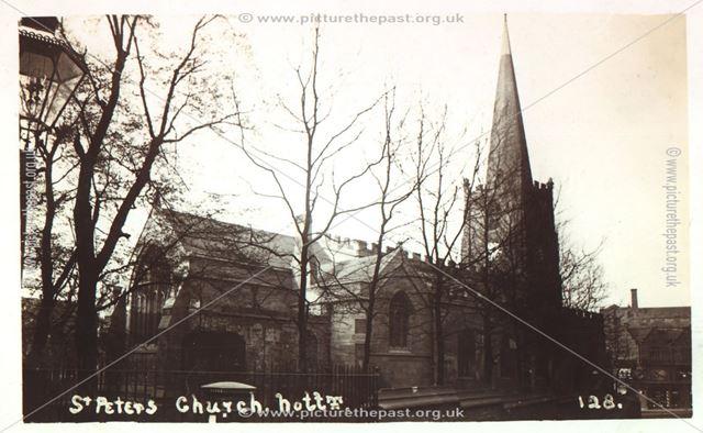 St. Peter's Church, Nottingham, c 1900