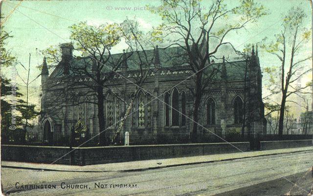 St. John's Church, Carrington, Nottingham, c 1900s