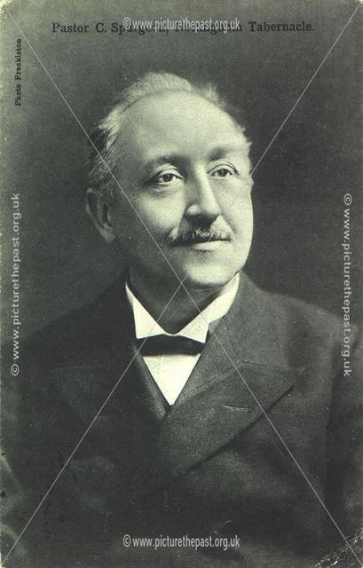 Pastor C. Spurgeon, Nottingham Tabernacle
