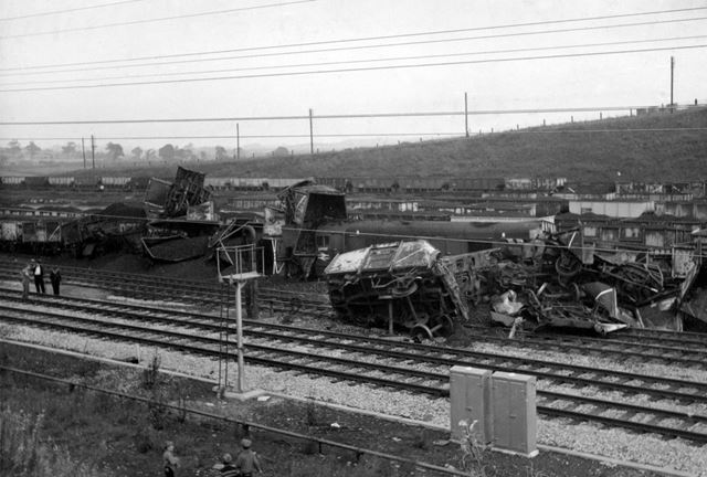 Rail Crash at Westhouses, 1968