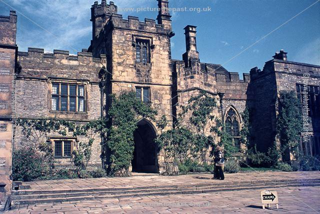 Lower Courtyard, Haddon Hall, Bakewell, 1998