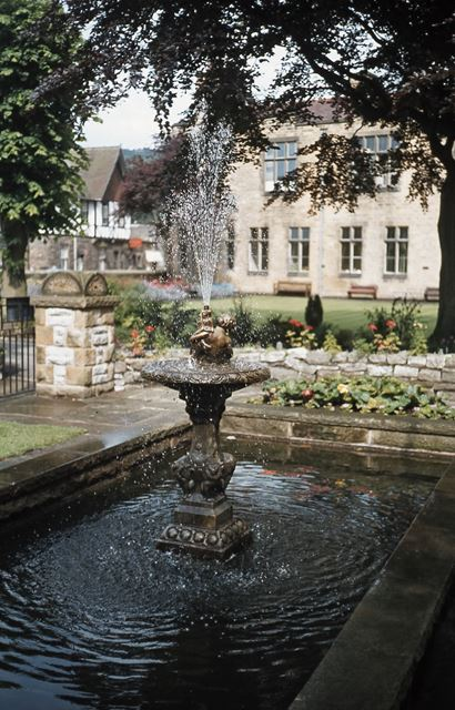 Fountain, Bakewell, c 1970s