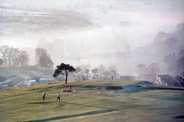 Valley Mist, Bakewell, c 1970s