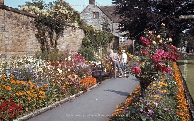 Bath Gardens,Rutland Square,  Bakewell, c 1970s