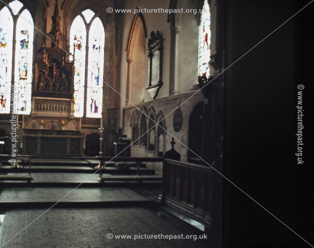 All Saints Church Chancel, South Church Street, Bakewell, c 1970s