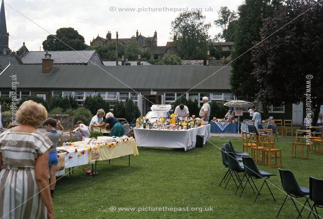 Garden Party, Bakewell, 1987