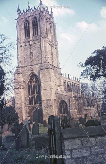 St. Mary's Church, Church Lane, Tickhill, c 1970s