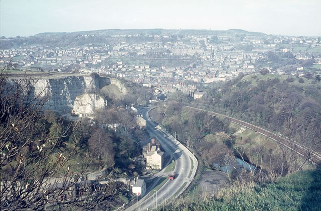 View From High Tor, Matlock, c 1970s