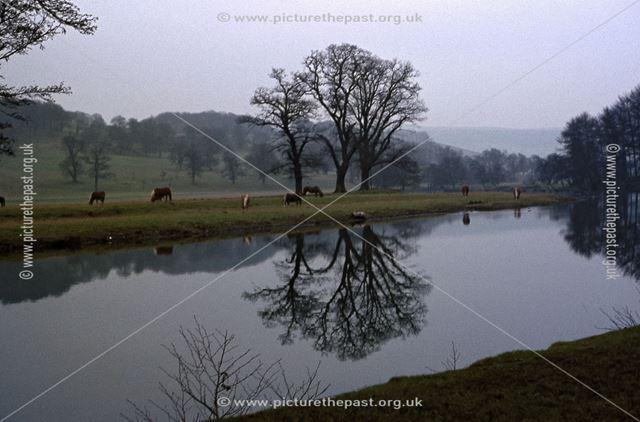 River Dewent, Chatsworth Estate, Chatsworth, c 1970s