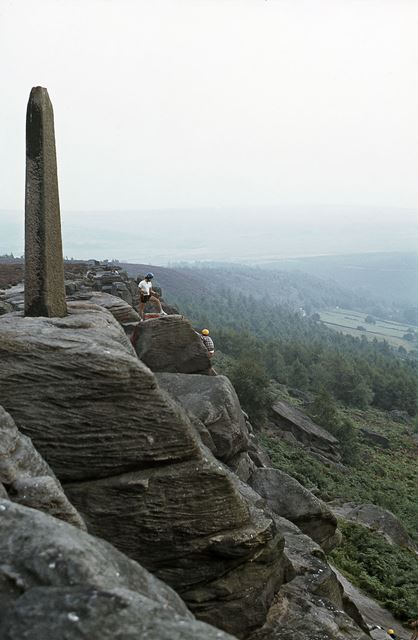 Nelson Monument, Birchen Edge, c 1970s