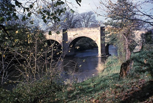 Old Toll Bridge, Church Street, Baslow, 1978