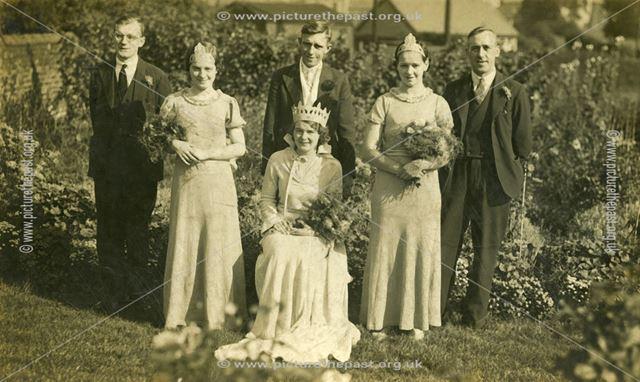 May Queen Coronations?, Heage?, c 1920s ?