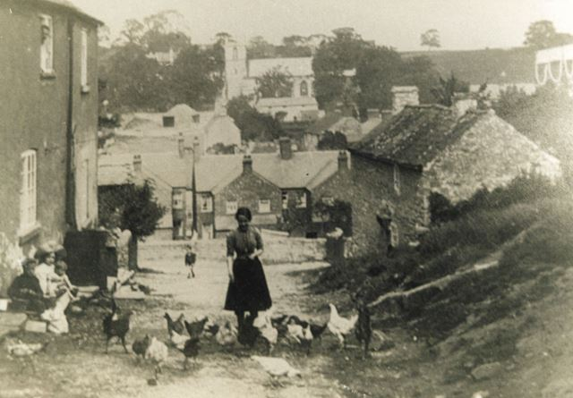 View from High Hill, Whitwell, c 1920s