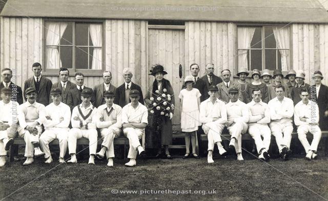 Bugsworth Cricket Club, c 1925 ?