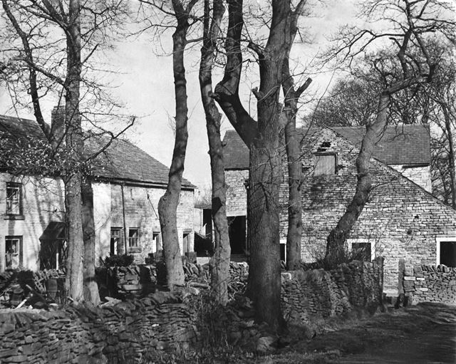 Digleach Farm Higher Crossings, Chapel-en-le-Frith, Derbyshire, c 1937