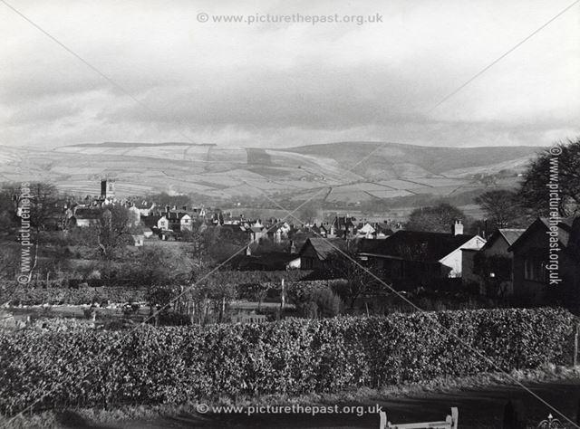 Hordens Park Road, Chapel-en-le-Frith, Derbyshire, c 1930