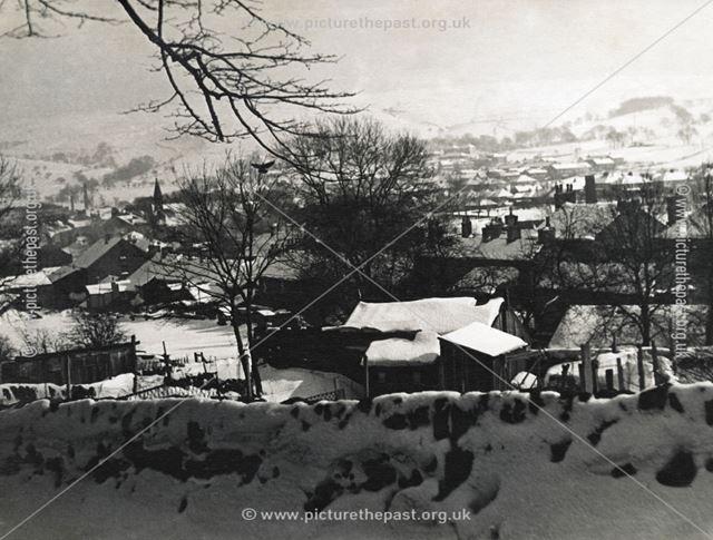 Burrfields Road, Chapel-en-le-Frith, Derbyshire, c 1940