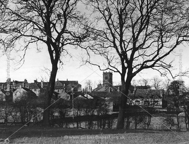 Park Road, Chapel-en-le-Frith, Derbyshire, c 1940