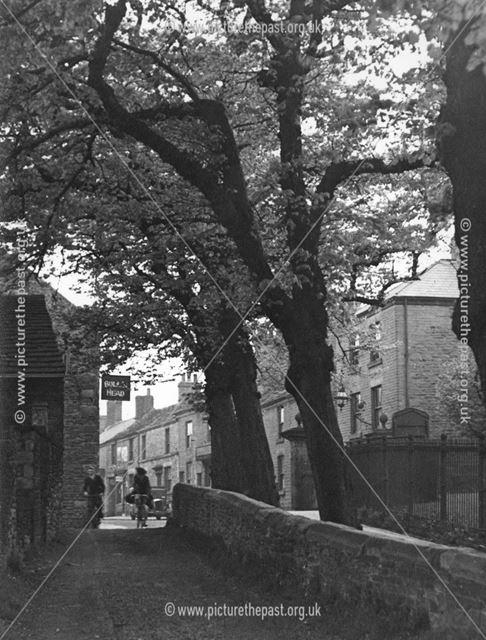 Danes Yard, Chapel-en-le-Frith, Derbyshire, c 1935