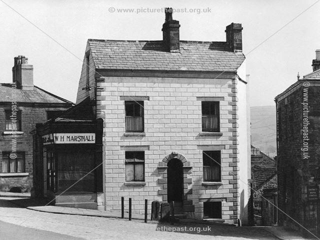 Market Place, Chapel-en-le-Frith, Derbyshire, c 1948