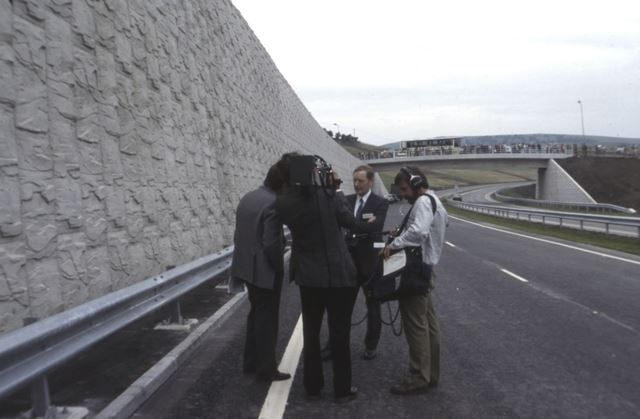 Offical By-Pass Opening, Chapel en le Frith, 1987