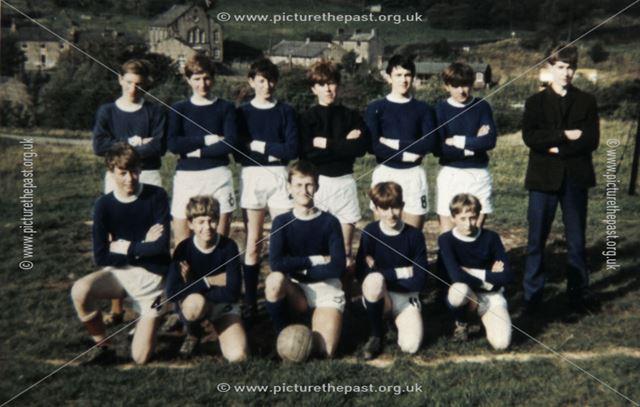Chinley Juniors A. F. C., On Buxworth Football Field, 1967