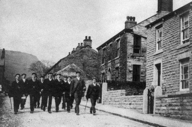 Chinley Lads Club, c 1910s