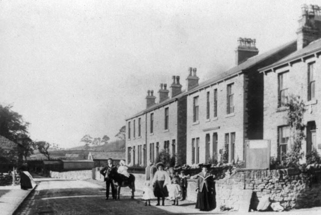 Far End of Lower Lane after 1904, Chinley, c 1900s