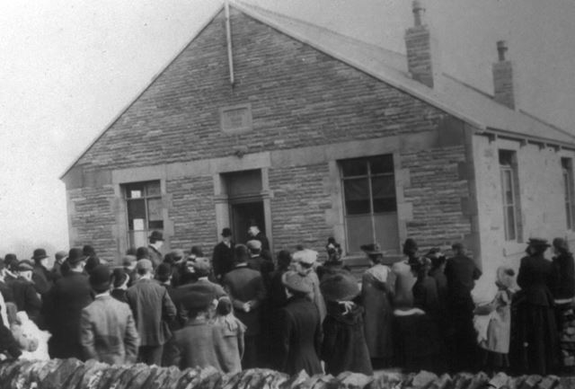Opening of the Liberal Club, Chinley, 1904