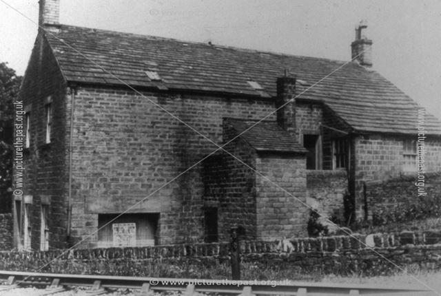 Wesleyan Sunday School, New Smithy, Chinley c 1890s