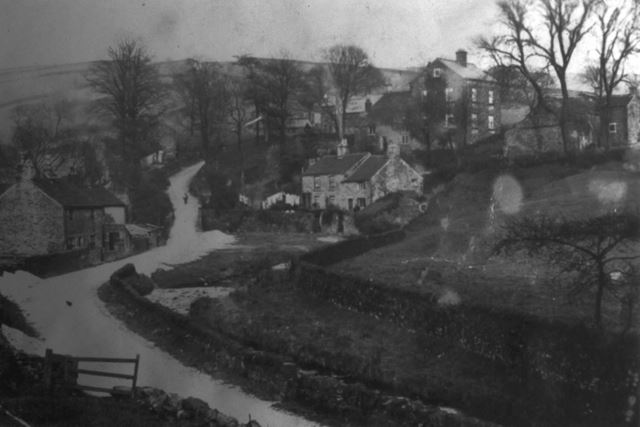 The Wash, Near New Smithy, Chinley, c 1900s