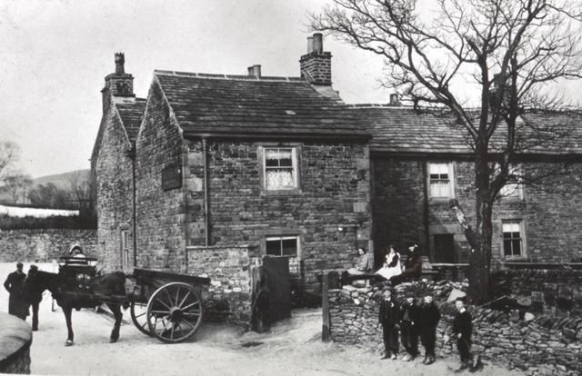 The Squirrel, Green Lane, Chinley, c 1900s
