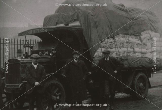 Hadfield's Transport; Wood, Goddard and Lomas, c 1910s